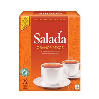 Salada Orange Pekoe Tea 72ct tea bags, (Imported from Canada)