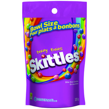 Skittles Berry, Mega-Pack, 320g/11.28oz, {Imported from Canada}