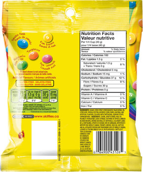 Skittles Brightside Candy 191 Gram/6.7oz, {Imported from Canada}