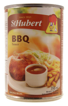 St Hubert BBQ Gravy Sauce, 398ml/ 13.5 fl. Oz. Cans (Pack of 3) {Imported from Canada}