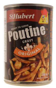 St Hubert Poutine Gravy, 398ml/13.5 fl. oz., Can {Imported from Canada}
