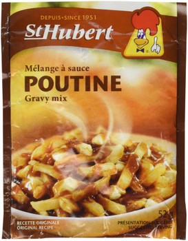 St Hubert Poutine Gravy Mix, 52g/1.8 oz., {Imported from Canada}