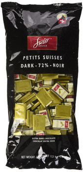 Swiss Delice Dark Chocolate 72% - 1.3kg/2.9 lbs {Imported from Canada}