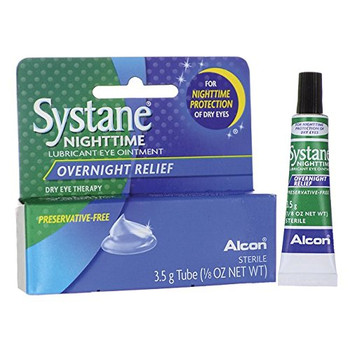 Systane Nighttime Lubricant Eye Ointment, 3.5 g {Imported from Canada}