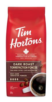 Tim Horton's Dark Roast Coffee, 300g/10.6 oz {Imported from Canada}