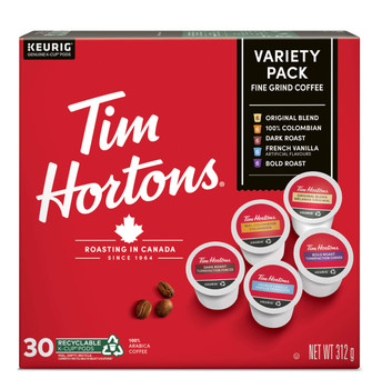 Tim Horton's Variety K-Cup 30 Count {Imported from Canada}