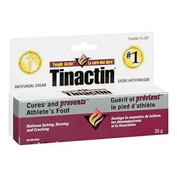 Tinactin Antifungal Cream, 30g/1.1 oz.,  {Imported from Canada}