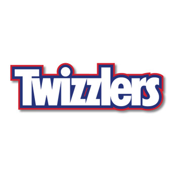 TWIZZLERS Licorice Candy, Strawberry Twizzelators, 24ct/90g bags, (Imported from Canada)