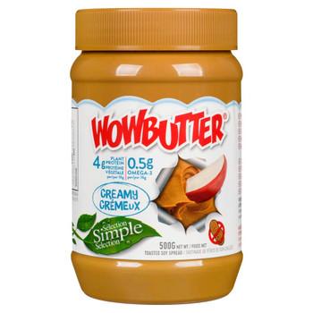 WOWBUTTER Creamy Peanut Butter Alternative, 500g/17.6 oz., {Canadian}
