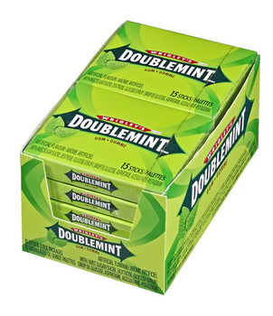 Wrigley's Doublemint Gum, 10ct/15 Sticks per pack, {Imported from Canada}