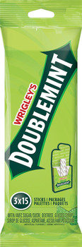 Wrigley's Doublemint - (3pk) 15 sticks per pack {Imported from Canada}