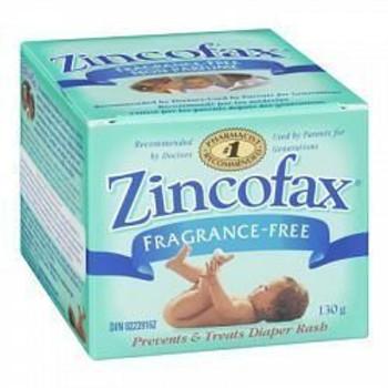 Zincofax Fragrance-Free Prevents & Treats Diaper Rash 130g {Canadian}