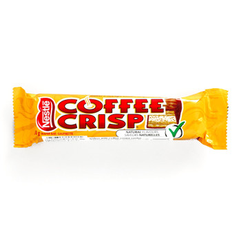 Nestle Coffee Crisp 1.76 oz each (1 Item Per Order) {Imported from Canada}