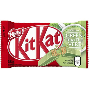 NESTLE Kit Kat Green Tea Chocolate 24x35g - {Imported from Canada}