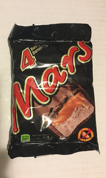 Mars Chocolate Full Size Bars (4 Pack)  {Imported from Canada}
