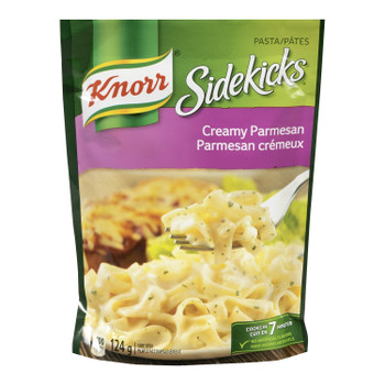 Knorr Sidekicks Creamy Parmesan Pasta 124g - Imported from Canada
