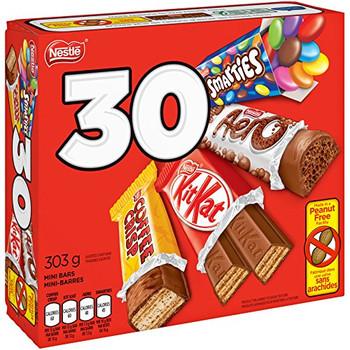 Nestle 30ct, Coffee Crisp, Kit Kat, Smarties, Aero, Halloween Box {Canada}