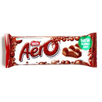 Nestle Aero Milk Chocolate Bar 1.4 oz(1 Item Per Order){Imported from Canada}