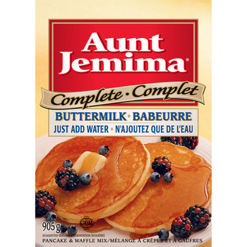 Aunt Jemima Complete Buttermilk Pancake Mix 905g/31.92oz {Imported from Canada}