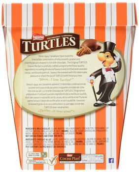 Nestle the Original Turtles 100% Pecan 350g/12.34oz Box {Imported from Canada}