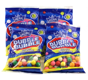 Dubble Bubble Gumball Machine Refill - 5oz (141g) (4 pack} {Canadian}
