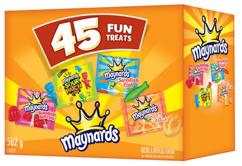 Maynards Halloween Candy, 45ct, 562g, {Imported from Canada}