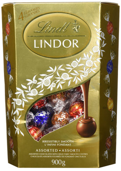 Lindt Lindor Christmas  Chocolates Box 900g/31.74oz{Imported from Canada}