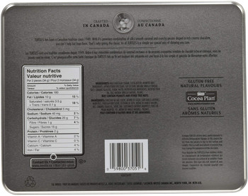Nestle Turtles Original; Limited Edition; 333g/11.7oz., Tin (Imported from Canada)