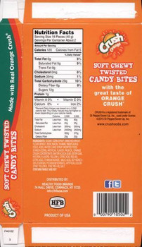 Crush Orange gummy soda bottles 85g/2.99oz Box {Imported from Canada}