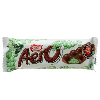 Nestle Aero Canadian Chocolate Mint Bar, 41g/1.4 oz., {Imported from Canada}