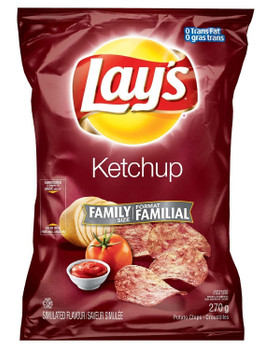 Lays Ketchup Flavour Chips (5 Large Bags) {Imported from Canada}