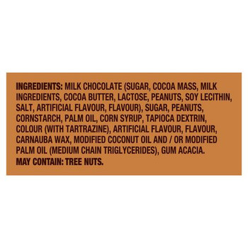 M&M'S English Toffee Chocolate Candy Peg Bag, 109g/3.8oz, (Imported from Canada)