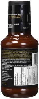 Bull's-Eye Old West Hickory BBQ Sauce, 425ml/14oz, (Imported from Canada)