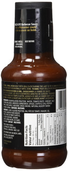 BULL'S EYE BBQ Sauce - Blazing Chipotle, 425ml/14oz, (Imported from Canada)