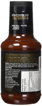 Bullseye Sweet & Sticky BBQ Sauce, 425ml/14oz,  {Imported from Canada}