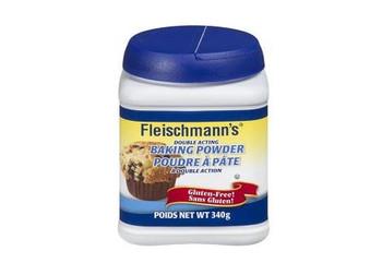 Fleischmann's Double Acting Baking Powder Gluten Free,  340g/12oz. {Imported from Canada}