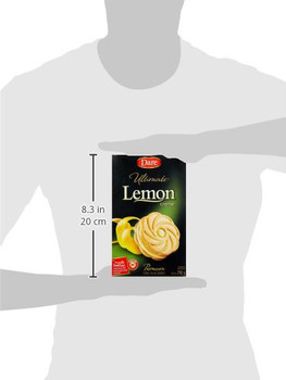 Dare Ultimate Lemon Creme Filled Cookies, 290g/10.2oz, (Imported from Canada)