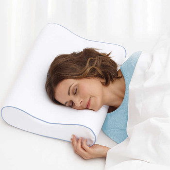 Novaform Memory Foam Contour Pillow with CoolGelHD 2-pack, {Imported from Canada}