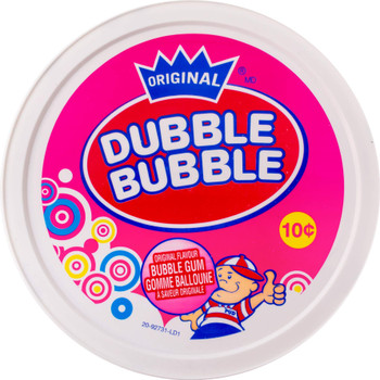 Dubble Bubble Gum with Comics Tub-240 Pieces, 1.44kg/3.2lbs. {Imported from Canada}