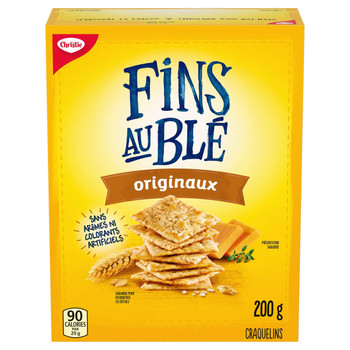 Chirstie Wheat Thins Crackers, Original, 200g/7.1oz., {Imported from Canada}