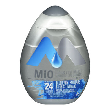 MiO Blueberry Lemonade Liquid Water Enhancer, 48ml/1.62oz,(Imported from Canada)