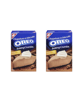 Oreo Baking Crumbs 400g/14.10oz., (2pk) {Imported from Canada}