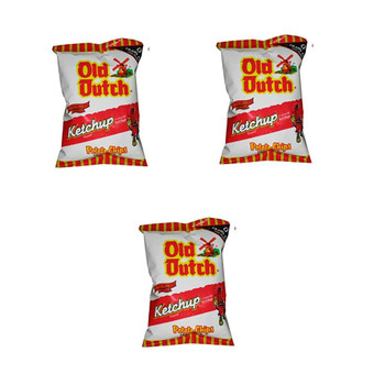 Old Dutch Ketchup Chips (3 count x 40G) Bundle {Imported from Canada}