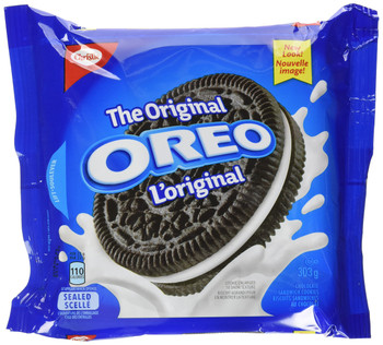 Oreo Original Sandwich Cookies, 303g/10.7oz., Bag, {Imported from Canada}