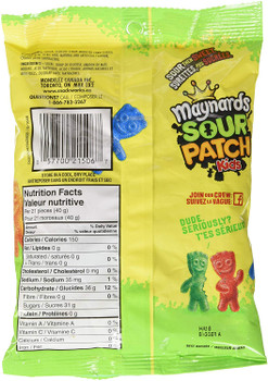 Maynards Sour Patch Kids Candy, 185g/6.5oz., {Imported from Canada}