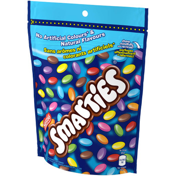 Nestle Smarties Resealable Bag,  203g/7.2oz, {Imported from Canada}