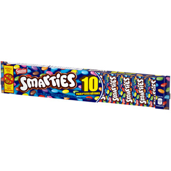 Nestle SMARTIES Snack Size (Pack of 10), 10g each, {Imported from Canada}