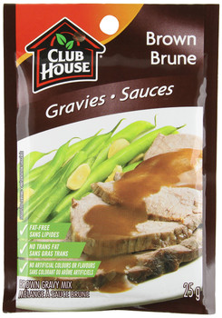 Club House, Brown Gravy Mix, 25g/1oz., {Imported from Canada}