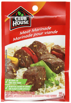 Club House Meat Marinade Seasoning Mix, 32g/1.1oz., {Imported from Canada}