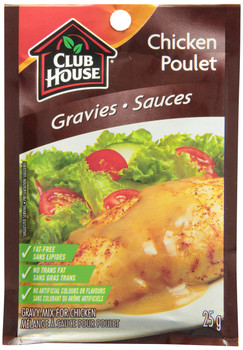 Club House Chicken Gravy Mix, 25g/1oz., {Imported from Canada}